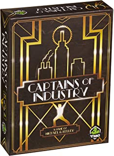 Captains Of Industry Board Game