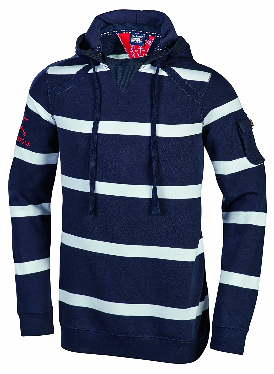 Marinepool Erwachsene Fashion - Men Sweater-Rugger Elton Hoodie