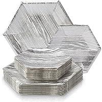 Silver Spoons VAJILLA para Fiestas DESECHABLE DE 36