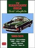 VW Karmann Ghia Gold Portfolio 1955-1974