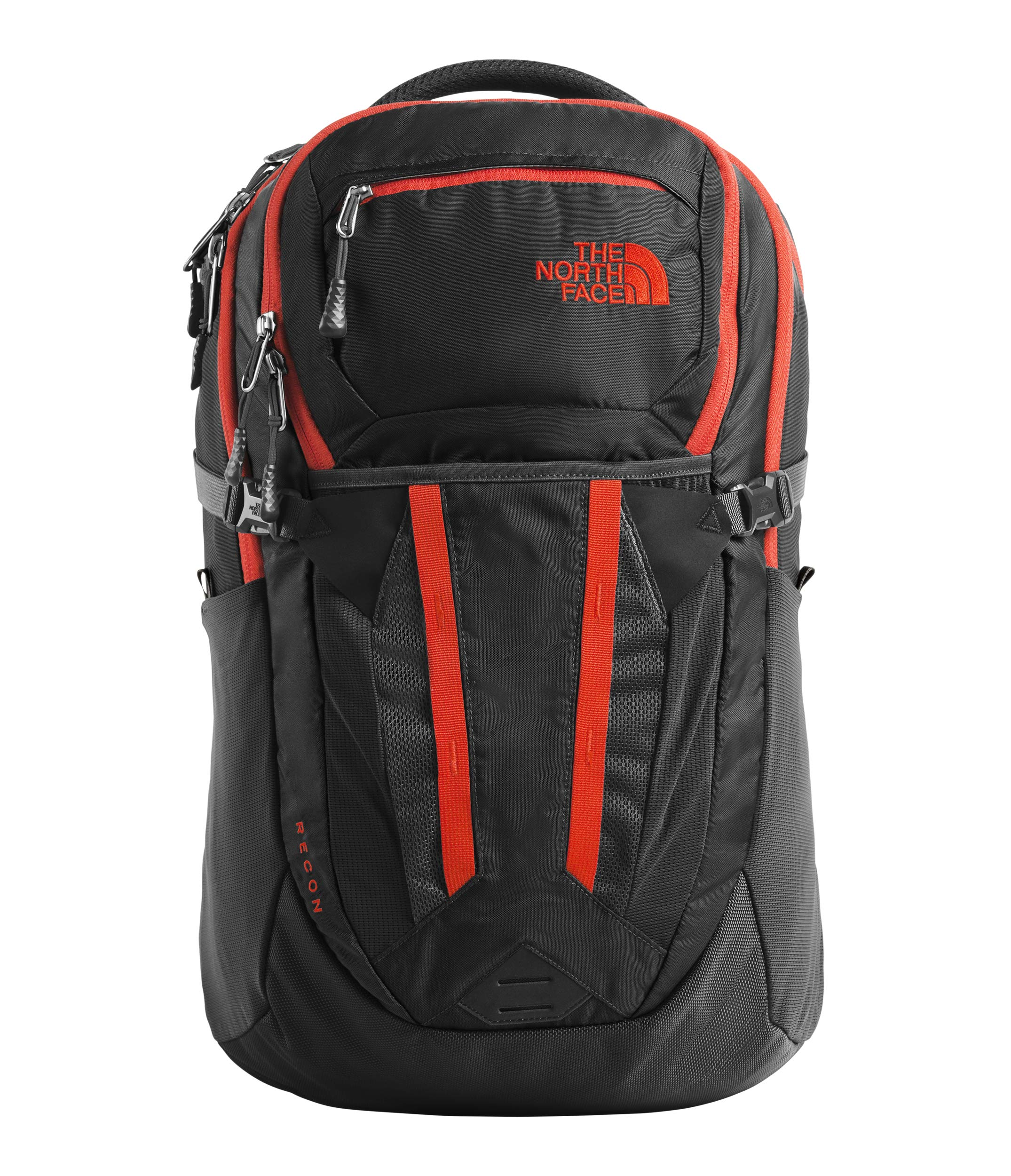 The North Face Unisex Recon Asphalt Grey/Fiery Red One Size
