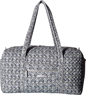 Image Unavailable. Image not available for. Color  Vera Bradley Women s  Iconic Large Travel Duffel Owls Gray ... 946cdd8b221b4