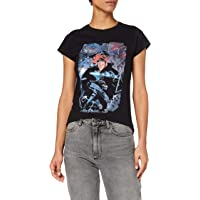 Marvel Women's Captain America Civil War Black Widow Breakout T-Shirt