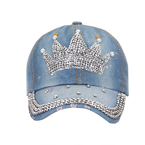 a9034cb8b Buy FabSeasons Denim Jeans Studded Fancy Cap for Women Online at Low Prices  in India - Amazon.in