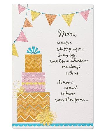 Geburtstagskarte Schreiben Mama.American Greetings Liebe Und Freundlichkeit Geburtstagskarte