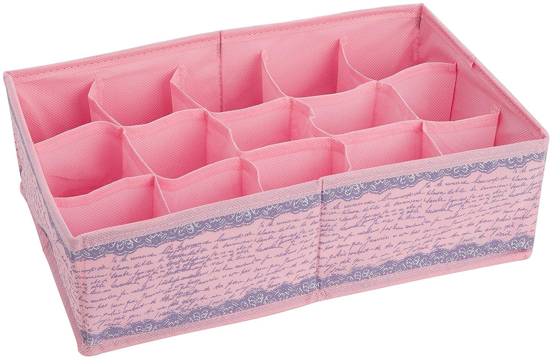 Braza Women's Divider Lingerie Bag Pink One Size 8110-26-171-3