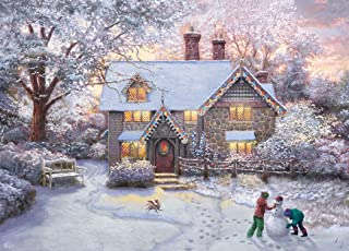 product image for Thomas Kinkade Christmas at Gingerbread Cottage Puzzle - 1000Piece