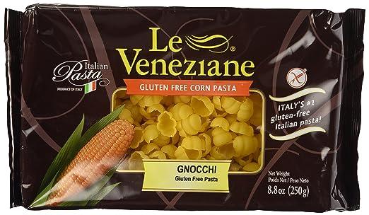 Le Veneziane Italian sin gluten maíz Pasta Gnocchi 250 ...