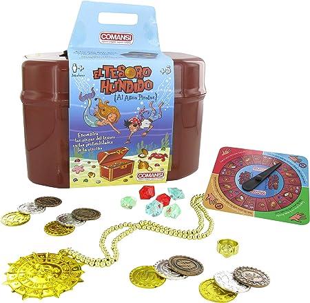 Gira la ruleta y busca el tesoro ¡Al agua Piratas!,¡Se el primero en encontrar el tesoro!,¡Al agua p