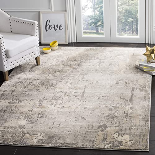 Safavieh MDW178F-9 Meadow Collection Grey Area Rug