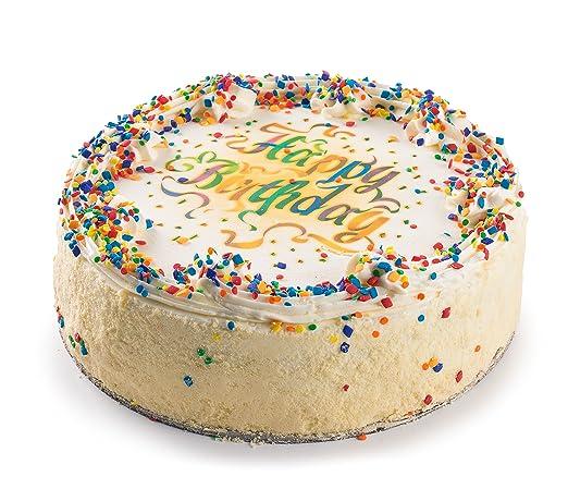 Pasteles de cumpleaños de galletas de David: Amazon.com ...