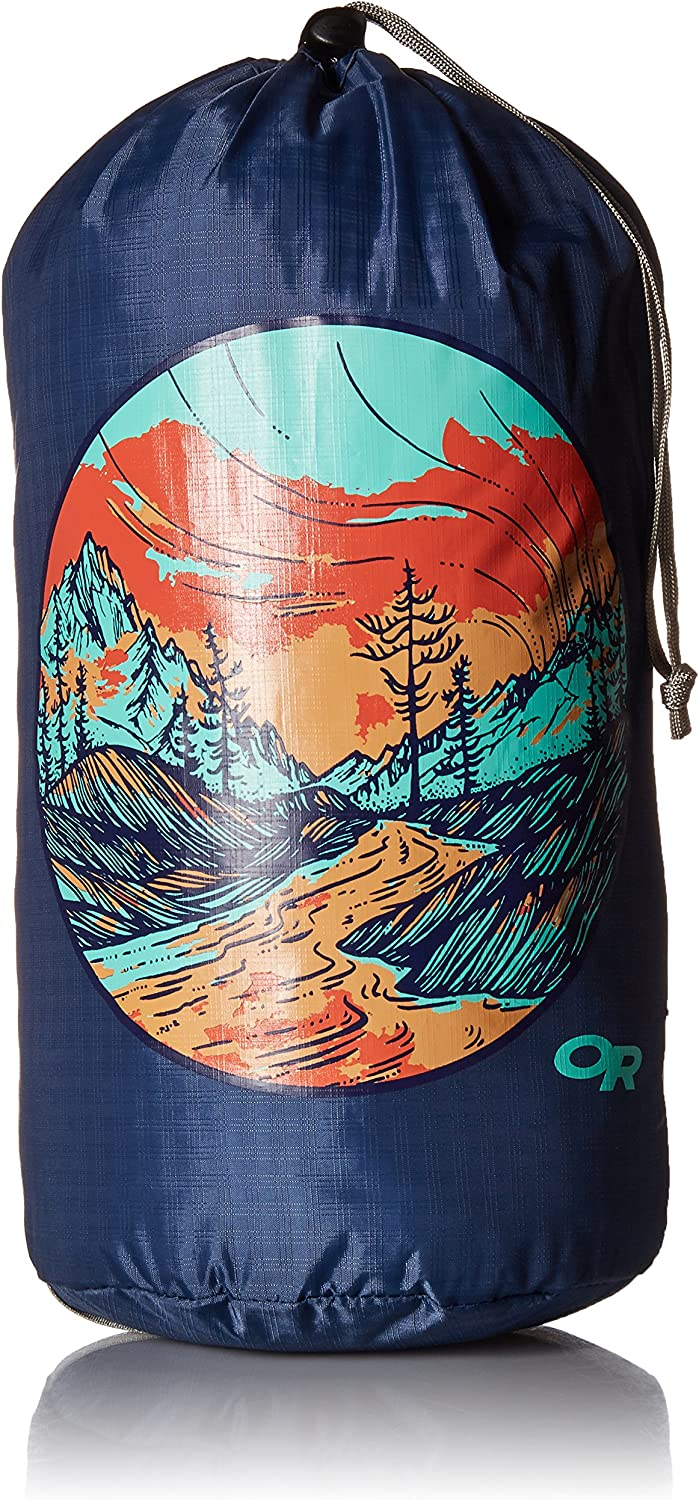 Outdoor Research Graphic Stuff Sack 10L Alpenglow