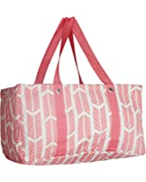 Wireframe All Purpose Large Utility Bag (Coral Arrow)