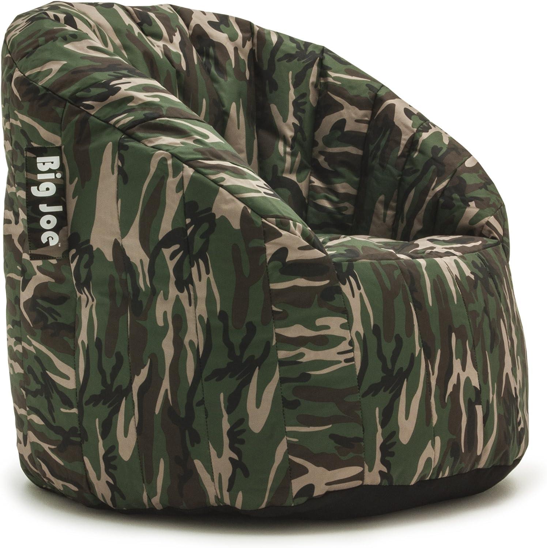 Woodland Camo Big Joe Lumin SmartMax Fabric Chair