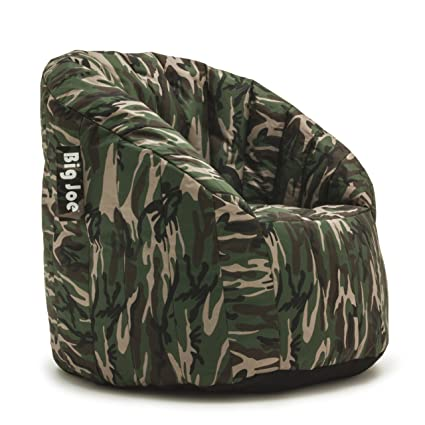 Attirant Big Joe Lumin SmartMax Fabric Chair, Woodland Camo