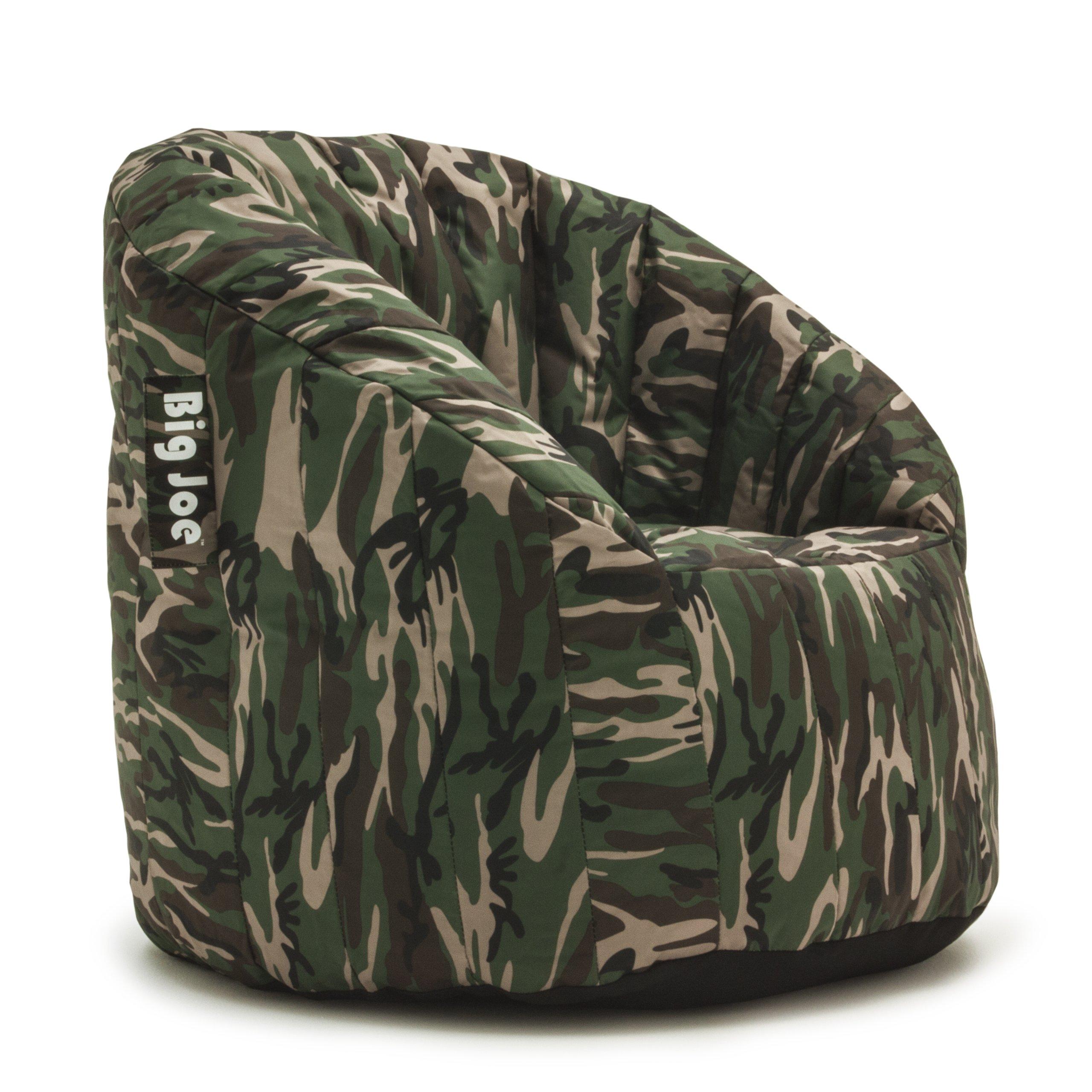 Big Joe Lumin SmartMax Fabric Chair, Woodland Camo by Big Joe
