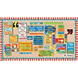 Eureka's Dr. Seuss Motivational Bulletin Board and Classroom Decorations for Teachers 18 x 0.1 x 28 inches, 61 pieces