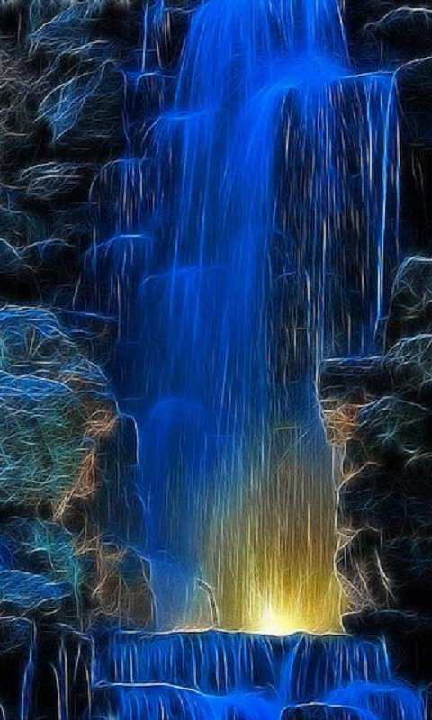 Amazon.com: 3D Waterfall Wallpaper: Appstore for Android