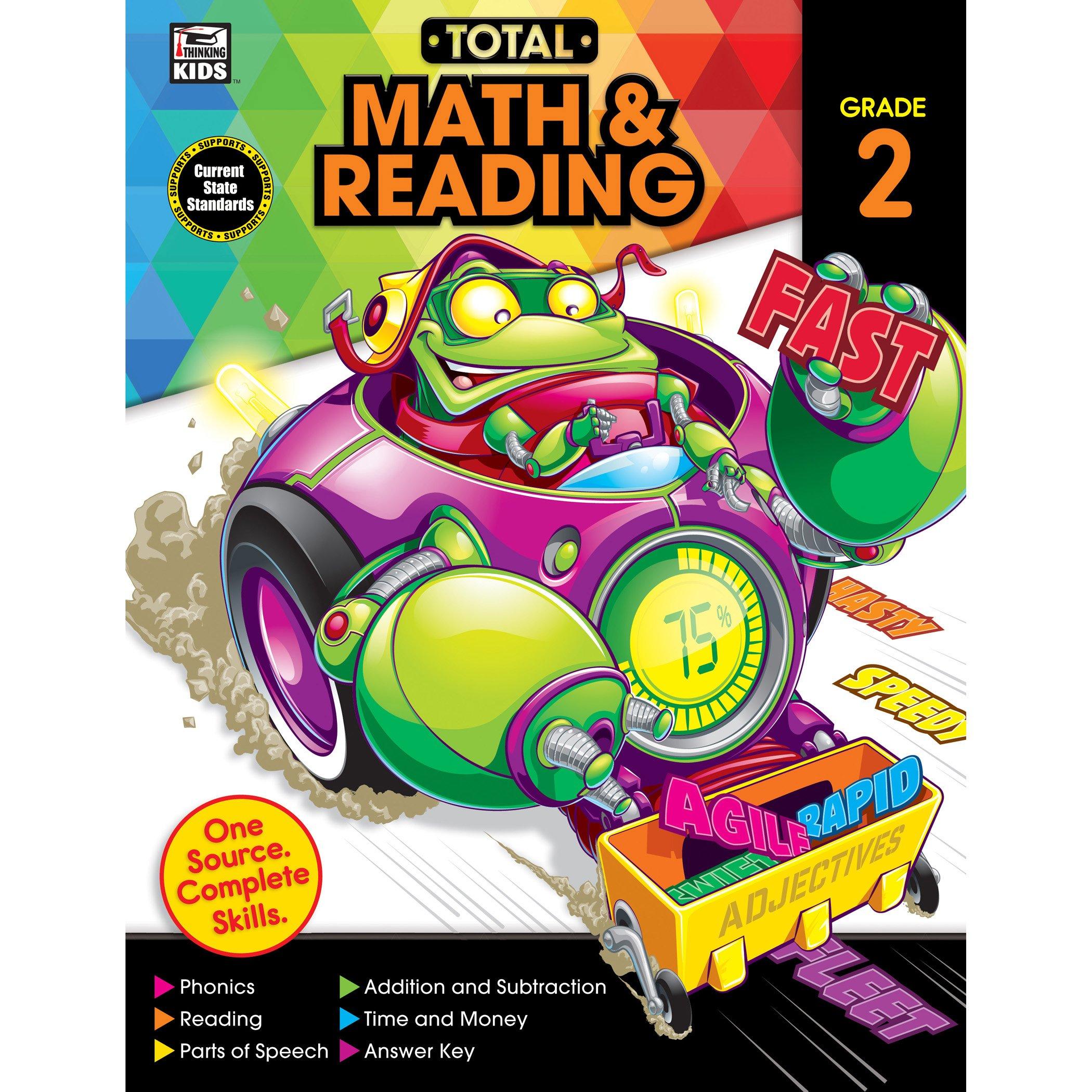 Download Total Math and Reading, Grade 2 pdf epub