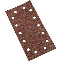 Silverline 986461 - Hojas de lija perforadas autoadherentes