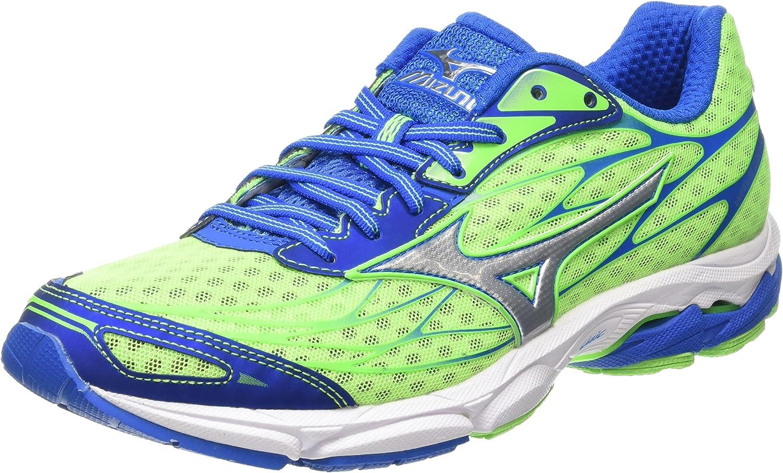 Mizuno Wave Catalyst - Zapatillas de running Hombre, GreenGecko/Silver/Skydiver, EU 45 (US 11.5): Amazon.es: Zapatos y complementos