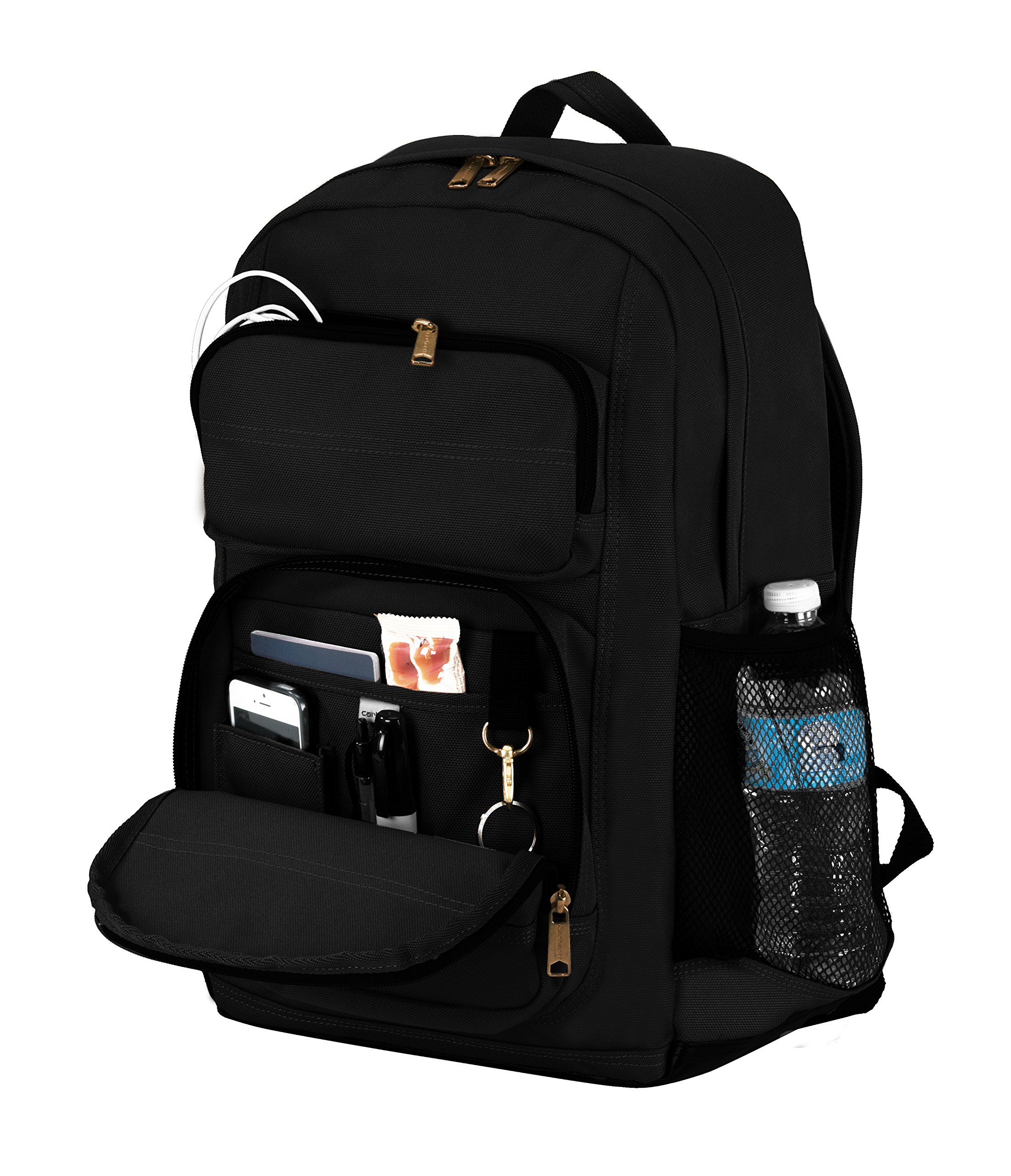 9979cf3c0 Carhartt Legacy Standard Work Backpack with Padded Laptop Sleeve and Tablet  Storage, Black