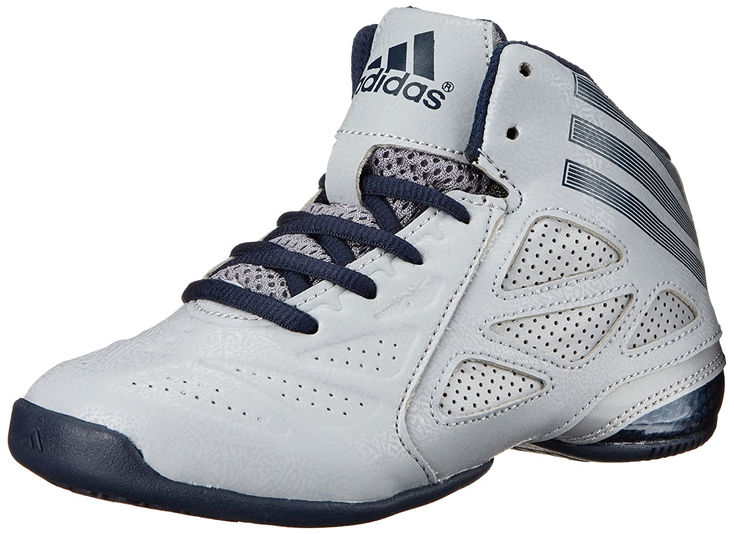 Amazon.com | adidas Performance NXT LVL SPD Next Level Speed 2 K Mid-Cut Basketball  Shoe (Little Kid/Big Kid), Light Onix/Collegiate Navy/Aluminum 2, ...