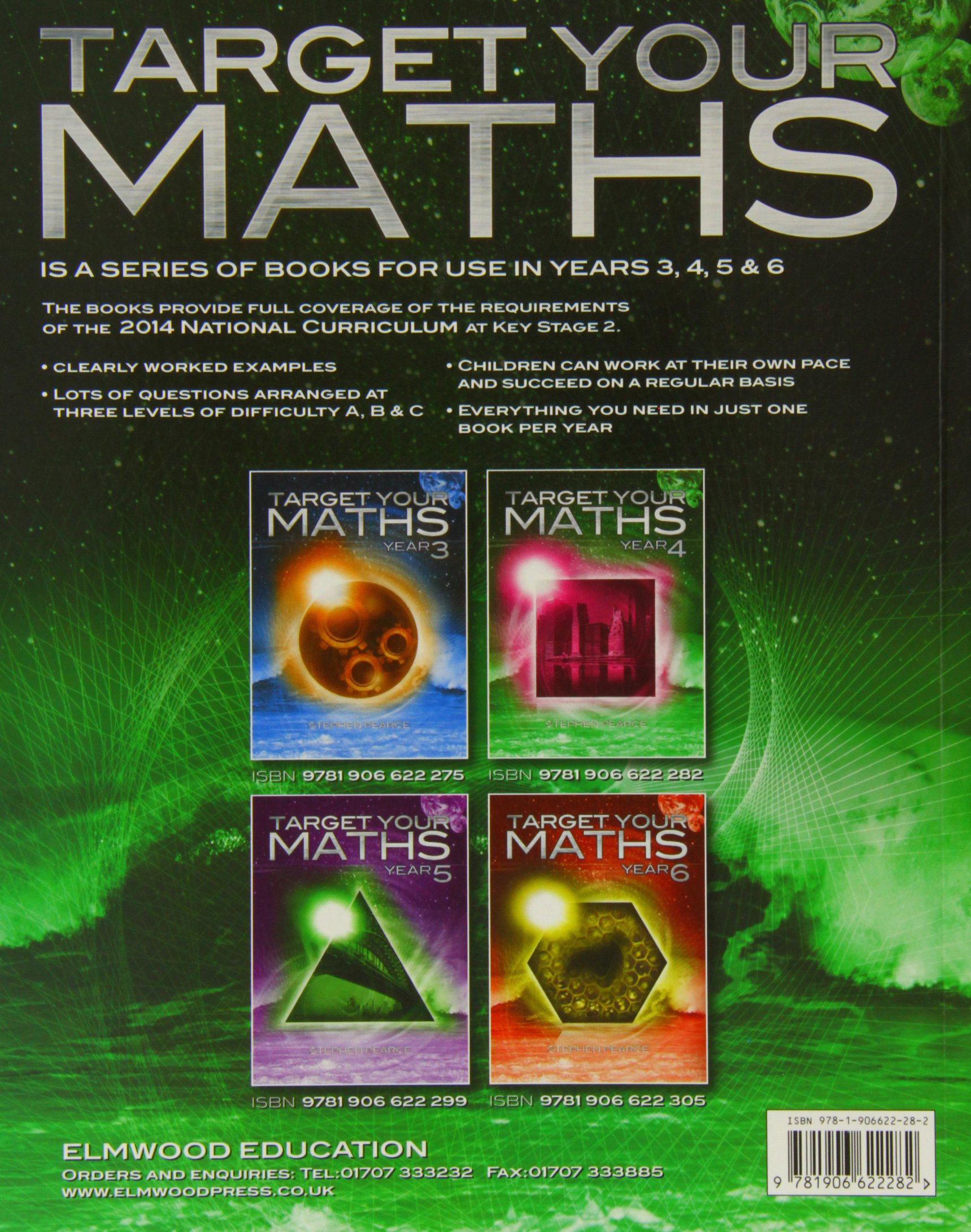 Target Your Maths Year 4 Year 4 Amazoncouk Stephen