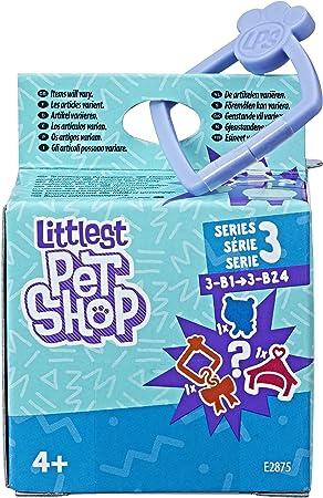 Pet de tamaño micro,La acogedora casita de la pet se engancha a un clip,Colecciona las 24 pets difer