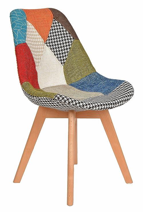 Ts Ideen 1 X Patchwork Design Sessel Wohnzimmer Büro Stuhl