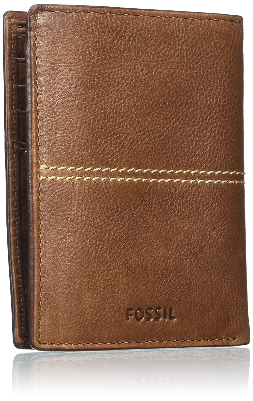 Fossil - Turk, Carteras Hombre, Braun (Brown), 2.5x12.7x10 ...
