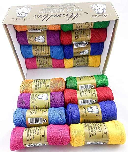 ▷ Pack de 16 Zepelines Ne 8/2 surtido colores oscuros de algodón ...