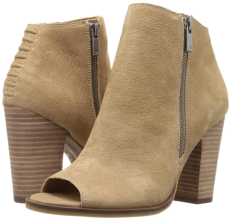 Lucky Brand Frauen Lamija Offener Offener Offener Zeh Leder Fashion Stiefel Sesame a6b218