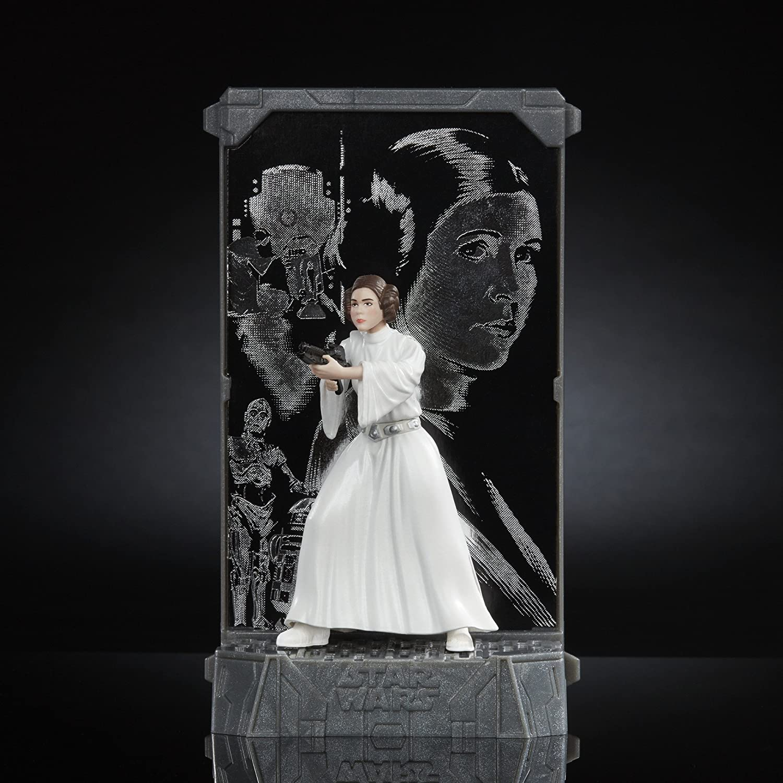 Star Wars The Black Series Titanium Series Princess Leia 3.75-inch Hasbro C1857