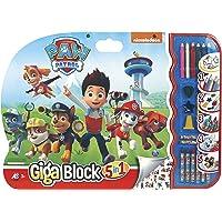 Cefa Toys- Paw Patrol Disney Super Block CREA-dibuja