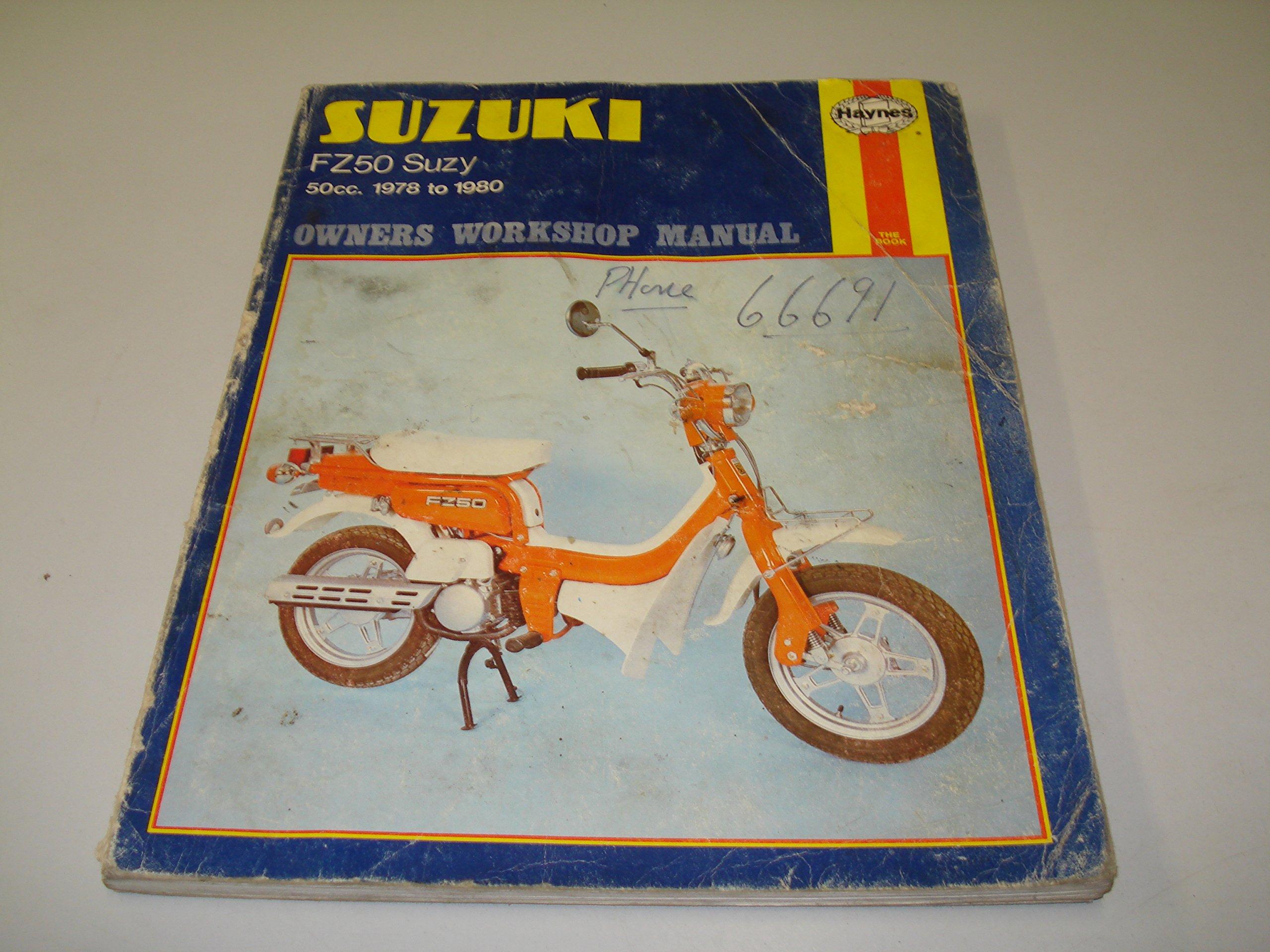 suzuki fz50 owners manual Array - suzuki fz50 owners workshop manual hayne  u0027s automotive repair manual rh amazon com