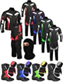 Mr.Pro A Full Set of Waterproof Motorbike Motorcycle Moped 2 Piece Suit in Cordura Fabric and CE Approved Armour - Jacket + Trouser + Boots + Gloves + Balaclava - Racing Touring Events
