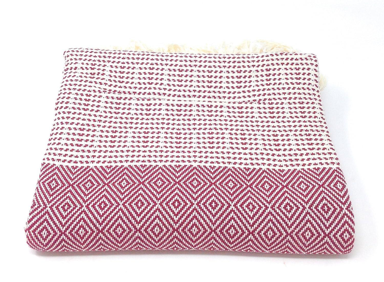Pink Agas-Own Elmas Hamamt/ücher T/ürkischen 100/% Baumwoll Tuch Badetuch Handtuch Saunatuch Strandtuch Hamamtuch Pestemal Peshtemal