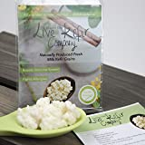 NEW Live Milk Kefir Grains - Our Kefir Grains Are One Of The Highest Quality Live Grains In The UK. Our Grains Are Active And Produce Some Of The Best Kefir Milk In The UK, Naturally Produced With The Freshest British Milk Available. Our Kefir Grains Are The Perfect Starter Culture To Create Your Homemade Kefir, Our Grains Work Best With Organic Milk. You Will Receive Live Active Grains Completed With Full Instructions And Recipe Ideas. Quality Assured By Live Kefir Company® (5 grams)