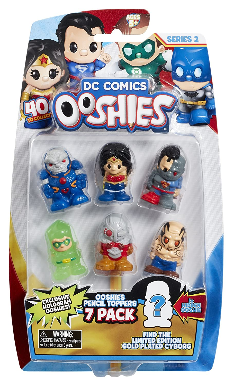 Ooshies DC Comics 7 Pack Asst - Wave 2