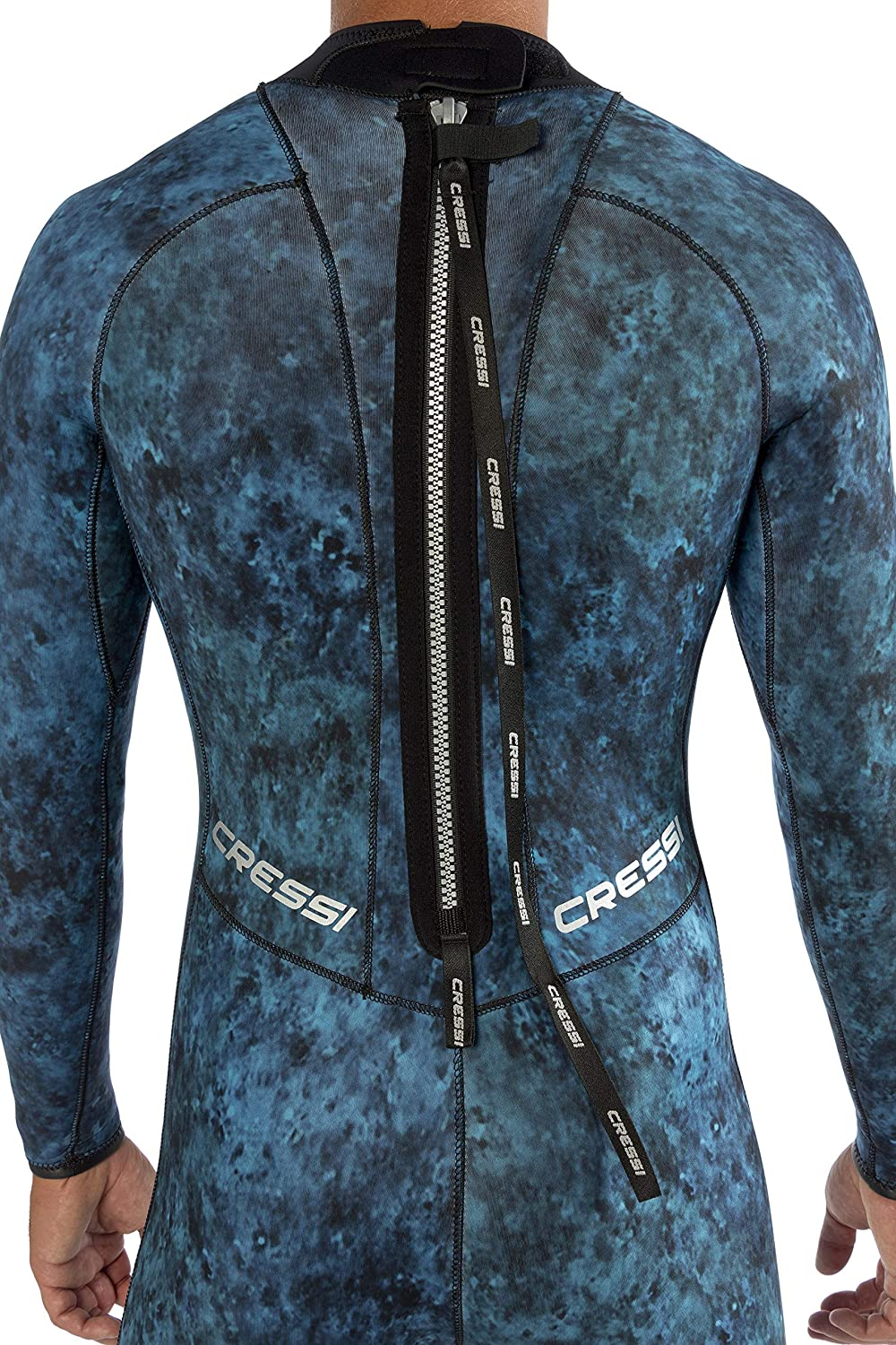 Blue /& Green Hunter 2.5 /& 3.5 mm Cressi Camouflage Wetsuit for Spearfishing Knee Protection Mimetic Pattern Loading Pad