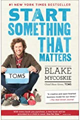Start Something That Matters Paperback