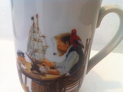 4780cbe4184 Amazon.com | Norman Rockwell A Good Boy Mug - New: Coffee Cups & Mugs