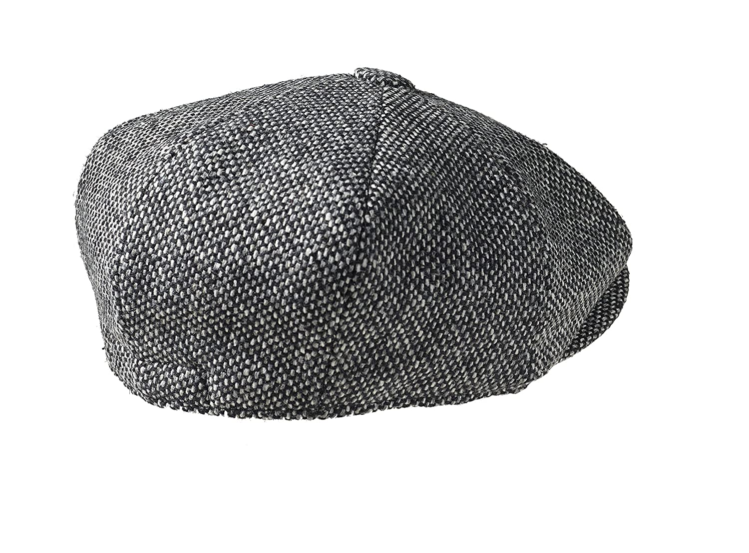 Peaky Blinders Men s 8 Piece  Newsboy  Style Flat Cap Wool at Amazon Men s  Clothing store  e0ed55168e21