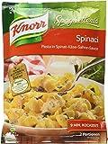 Knorr Spaghetteria Spinaci Pasta mit Spinat und Käse-Sahne-Sauce, 5er Pack (5 x 164 g) g