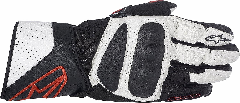 guantes de moto de cuero touring