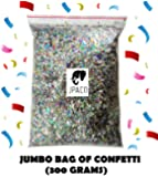 Sparkle Confetti (300g - Equivalent to over 10 Cups!) Great for New Years Party, Party Table Scatter Decorations, Favor Bags, Weddings, Birthdays, Celebrations, and Themed Parties