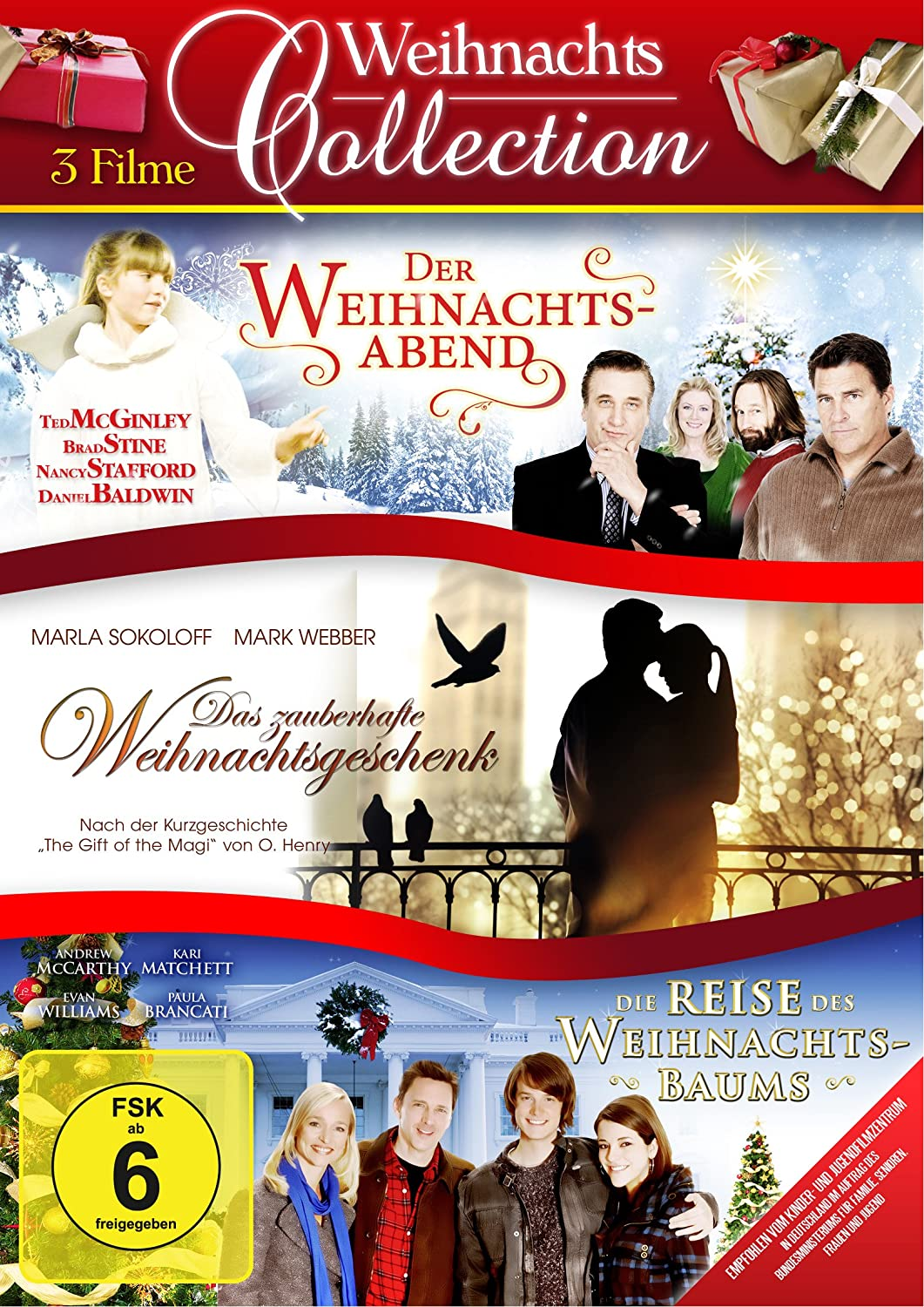 Weihnachts Collection - 3 Filme Edition [3 DVDs]: Amazon.it ...