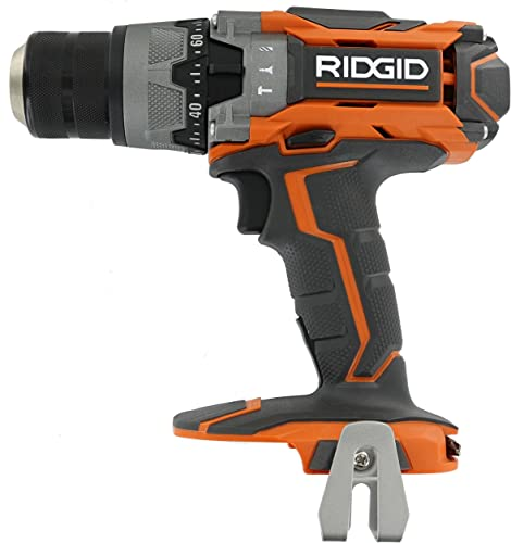 Ridgid R8611503 Gen5X 18V Lithium Ion Cordless 1 2 Inch 780 Inch Pound Hammer Drill with LED Lighting and Textured Handle Battery Not Included, Tool Only