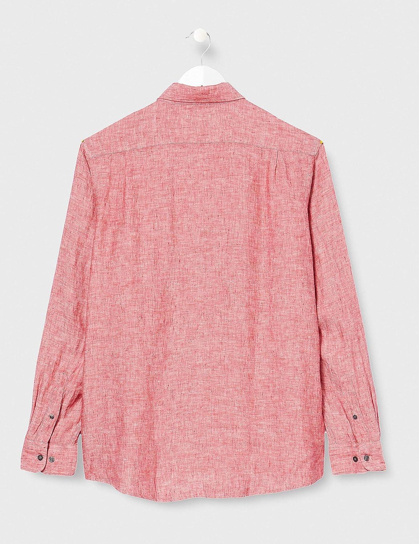 find Marke Herren Regular Linen Hemd